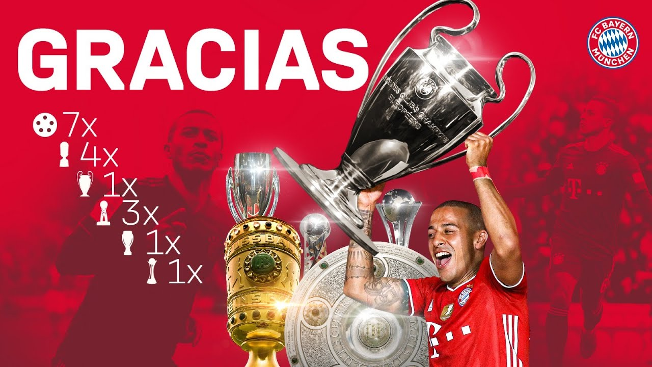 Thank you for everything, Thiago! #MiaSanMia