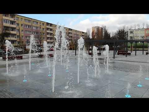 Fontanna w Rataje-Parku w Poznaniu