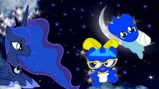 Май Литл Пони.Карманная пони Принцесса Луна.Мультик игра для детей.My little pony