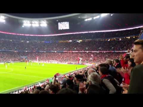 Bayern Vs Wolfsburg 5:1 Robert Lewandowski 4th Goal Tik