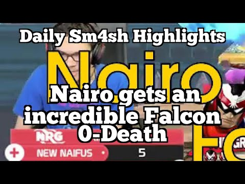 Daily Sm4sh Highlights: Nairo gets an incredible Falcon 0-Death