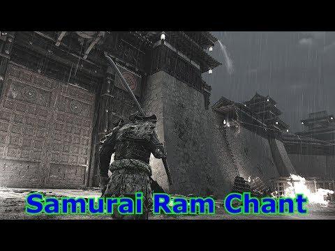 For Honor Samurai Ram Chant Translation