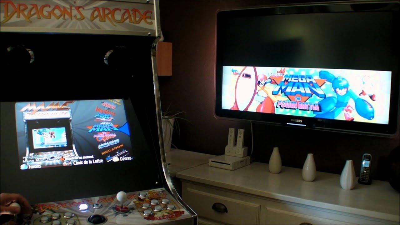 borne arcade led