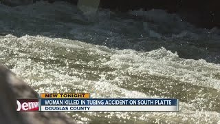 Woman dies after tubing incident in the South Platte River