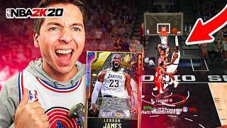 GOAT LEBRON JAMES CRAZY GAME WINNER! NBA 2K20 DRAFT