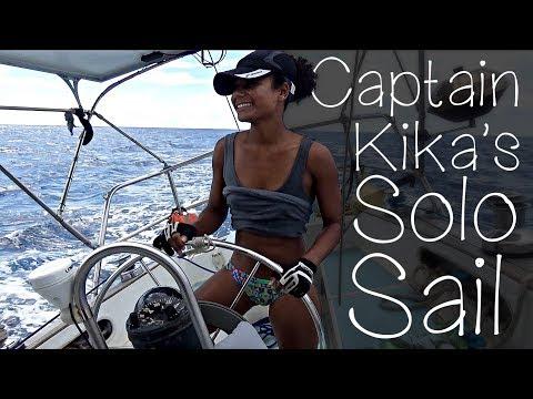 Captain Kika's SOLO SAIL...(ish) — Sailing Uma [Step 91]
