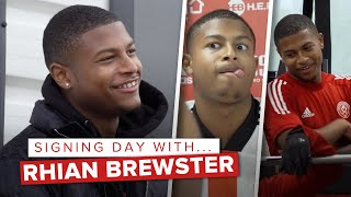 Behind the scenes | Rhian Brewster joins Sheffield United from Liverpool