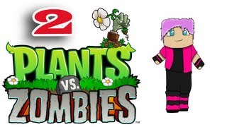 ч.02 Растения против Зомби с кошкой - Зомби с палкой