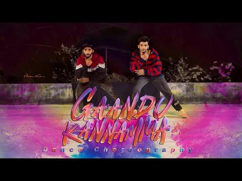 Gaandu Kannamma | Dance cover | Ft. Midhun Krish na \u0026 Aromal