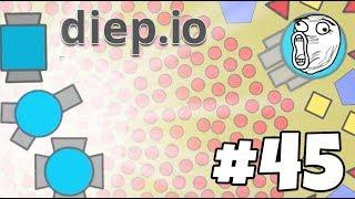 MASTEROV DOMINATES ONCE AGAIN!  Diep.io Gameplay Part 45 (.io Week!)