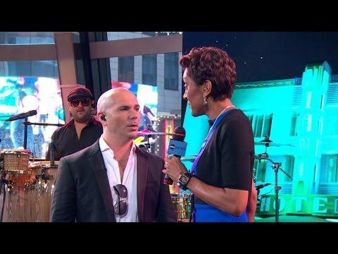 Pitbull Talks 'Globalization' in 'GMA' Chat
