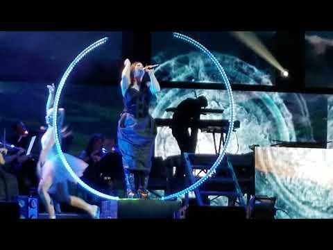 Shatter Me (live with orchestra) Lindsey Stirling ft. Amy Lee, Camden NJ  7/17/18