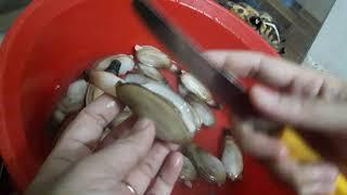 Cách làm tu hài - hải sản sạch Hạ Long