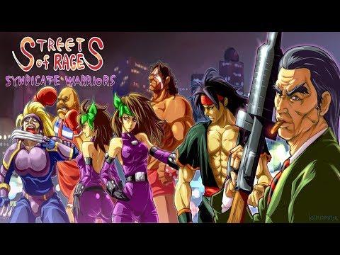 Streets Of Rage 2X Version 1.9 - Playthrough (Openbor)