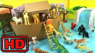 Kid -Kids -Animals Ark Playset Build and Play/Noah's Animals Ark Fun Toys For Kids - Learning Anima