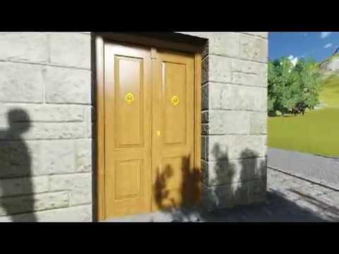 Puerta exterior cuarterones carpinteria santa clara youtube - Carpinteria santa clara ...