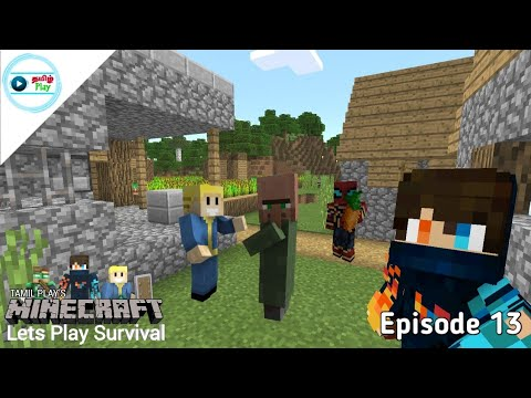 Tamil Play's Minecraft Lets Play Survival - Episode 13