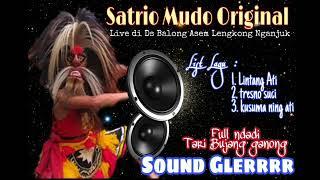 Mp3 Tari Bujang Ganong Satrio mudo original live Balong asem lengkong nganjuk