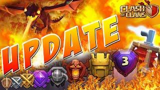 Clash of Clans UPDATE 2015 | Titan League, Legend League & Dragon Level 5!! (Clash of Clans Update)