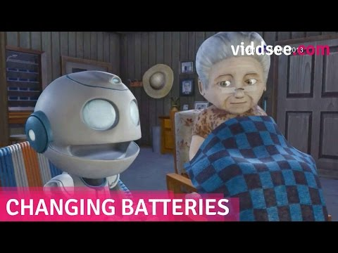 Changing Batteries - A Robot 'Son' Couldn't Replace The Emptiness In Her Heart // Viddsee.com