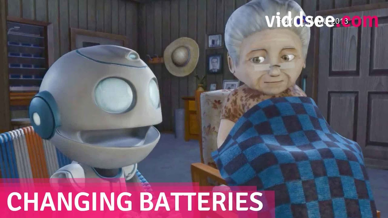 Changing Batteries - A Robot | Short Film