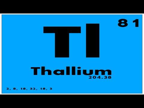 Study guide 81 thallium periodic table of elements youtube study guide 81 thallium periodic table of elements urtaz Choice Image