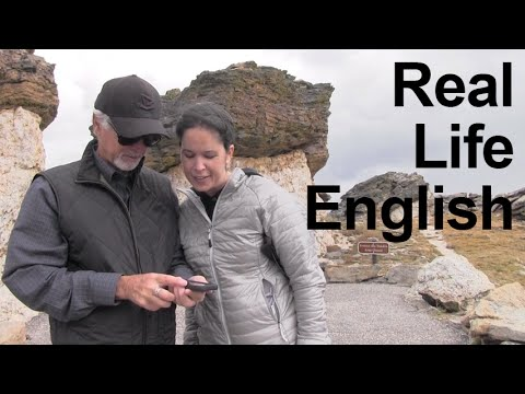 Real Life English Conversation: Colorado Mountains -- Americ