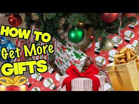 5 Smart Ways To Get More Christmas Gifts This Year - Xmas Life Hacks | Nextraker