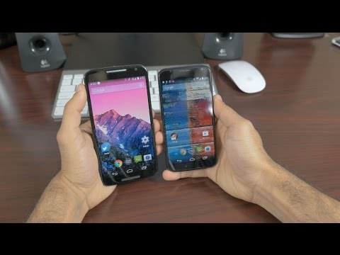 Moto X (2014) vs Moto X (2013) in 4K
