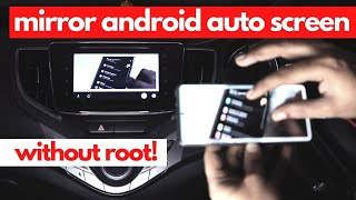 How to Mirror Android Auto wit…