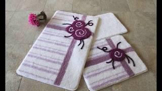 ВИДЕО ОБЗОР набор ковриков в ванную  АLESSIA