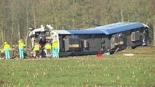 Eerste videobeelden treinongeluk Dalfsen - RTL NIEUWS