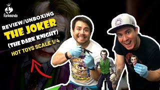 REVIEW / UNBOXING: HOT TOYS The Joker 1/4 (Sideshow)