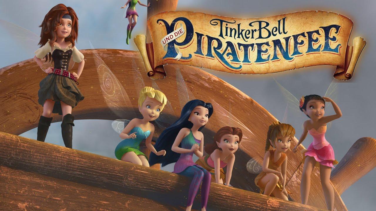 TINKERBELL UND DIE PIRATENFEE - Offizieller Trailer - Ab 12. Juni 2014 im Kino!