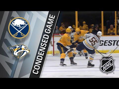 03/31/18 Condensed Game: Sabres @ Predators