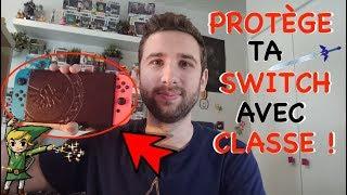 COVER SWITCH ZELDA EN CUIR ! | PROTÈGE TA SWITCH AVEC CLASSE