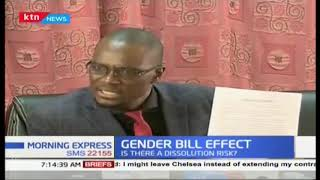 Gender bill effect : National assembly to vote on Wednesday