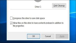Should You Use Windows' Full-Drive Compression to Save Space?