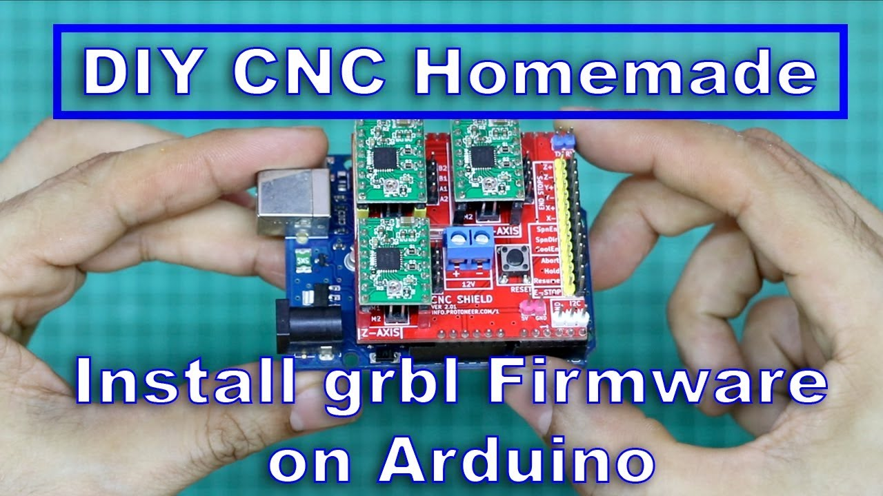 DIY CNC Homemade - Install grbl Firmware on Arduino