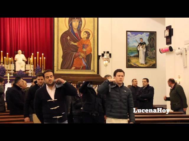 Vídeo: La Cruz de los Jóvenes vuelve a Lucena. Vía Crucis de la Agrupación de Cofradías