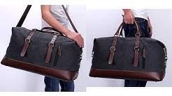 1cdb3d7fd2 ZUO LUN DUO Canvas Travel Bag กระเป๋าสัมภาระ กระเป๋าสะพายไหล่ กระเป๋าเสื้อผ้า  รุ่น 8655 - Duration  0 46.