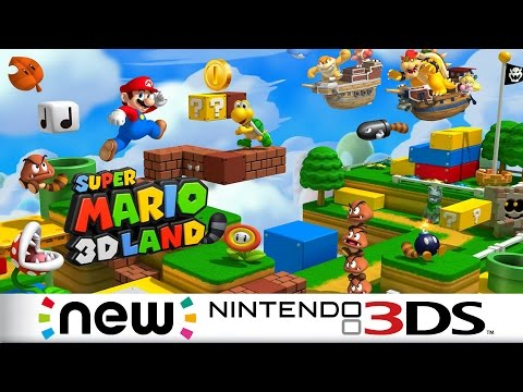 Zagrajmy w Super Mario 3D Land - Pierwszy Gameplay z New 3DS XL