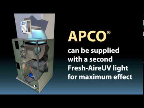 Apco Uv Light Air Purifier For Furnace Or Air Handler