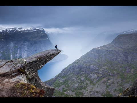World's Scariest Selfie?   Trolltunga Norway Travel Vlog