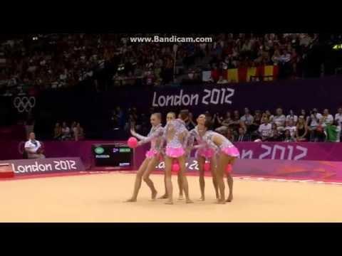 Russia 5 Balls Final Londres 2012