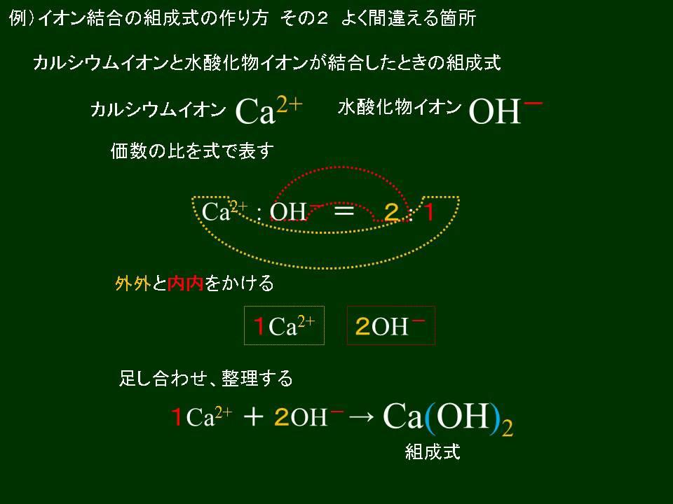 酸化 物 イオン