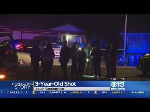 Child, 3, Injured In Possible Drive-By Shooting In South Sacramento