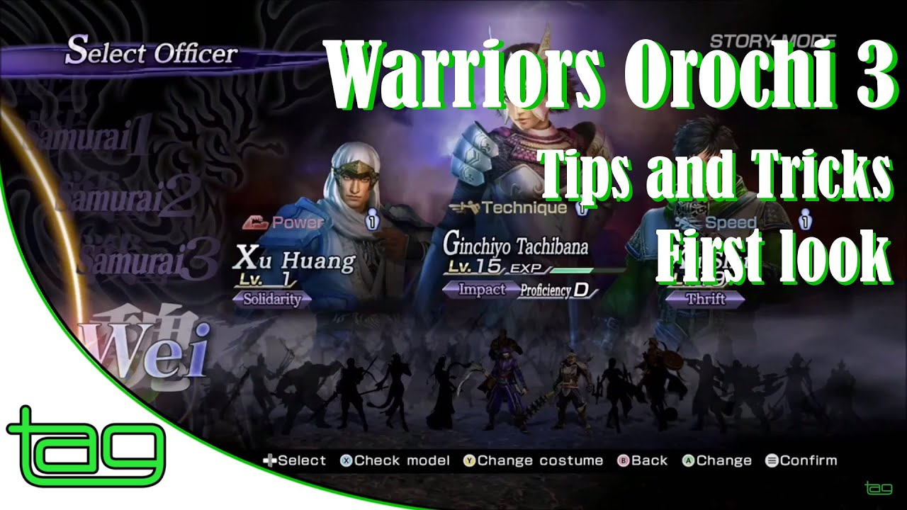 Warriors Orochi 3 Ultimate Tips for Beginning Players ...