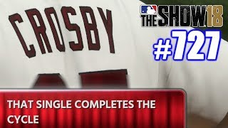 FIRST CYCLE ON NEW TEAM! | MLB The Show 18 | Road to the Show #727