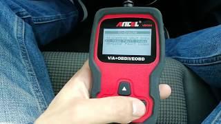 Praxis test ANCEL VD500 OBD II Scanner - Service reset - EPB